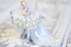 【UCAGCO】 Ceramic Shoe with Ballerina