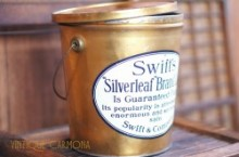 【Swift's】 LARD PAIL STYLE TIN