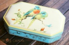 【Walters' Palm Toffee】 TIN : Parakeets