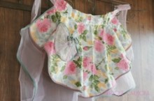 Rose & Organdy Cafe Apron