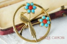 【WBs】 Bird Brooch