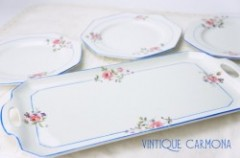 【TAMS WARE】 Sandwich Tray & Plate Set