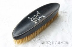 Edwardian Gentlemen's Ebony Brush