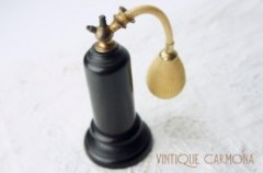 Edwardian Gaboon Ebony Perfume Bottle