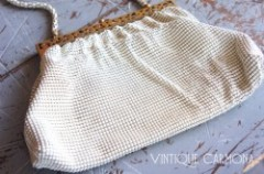 【Whiting & Davis】 Mesh Evening Bag