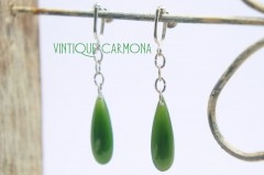 Chrysophrase Drop Earrings