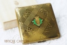 【Coty】 Square Powder Compact