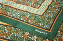 【Jacqmar】 Dark Green Scarf