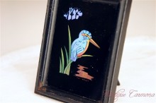 Butterfly Wing Craft Frame : Kingfisher