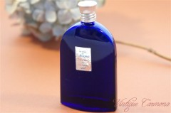 "【BOURJOIS】 ""Soir de Paris"" Blue Perfume Bottle"