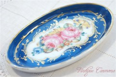 French Hand Painted Miniture Plate