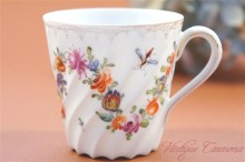 【Carl Thieme】 Dresden Flower Demi Cup