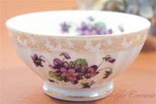【BERRY&CNP】 French Petit Cafe Au Lait Bowl with VIOLETS