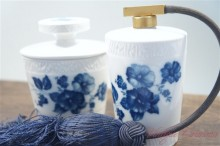 【Royal Bavaria】Blue Flower Purfume Bottle Set