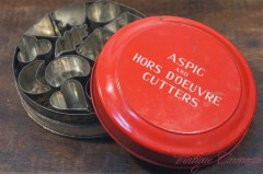 【Tala】 ASPIC & HORS D'OEUVRE CUTTERS & Tin