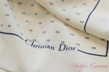【Christian Dior】 CD Logo Scarf