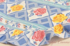 Hand Made Rose Pattern Cafe Apron