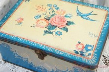 【BLUE BIRD】 Toffees & Chocolates TIN