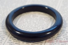 Bakelite Bangle : Navy