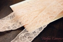 Shell Pink Lace 3.2x450cm