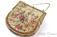 Tapestry Purse Bag