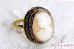 Shell Cameo Ring #13