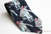 【Charles of London】 Wide Men's Tie