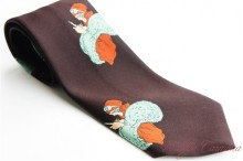 【EYE TO EYE London】 Wide Men's Tie
