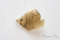 【Lea Stein】 Brooch / Gold Fish