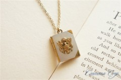 WWII Army Sweetheart  Locket Pendant
