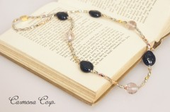 Glass Beads  Necklace Ladybirds