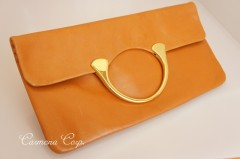 2-way Leather Clutch Bag