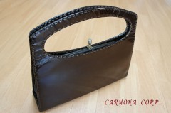 Enamel Leather Handbag
