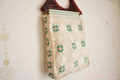 Hand-crochet Retro Bag