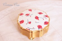 【Stratton】 Flower Trinket Box