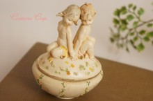 【Fontanini 】 Small Container : Girl/Boy