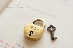 Small Padlock with Key