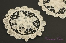 Flower Motif Lace 2pcs Set
