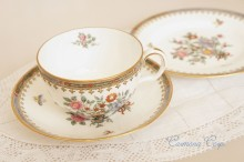 【T. GOODE & CO , SPODE 】TRIO  Cup & Saucer & Plate Set