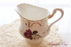 Creamer / Milk Pot  Rose Print