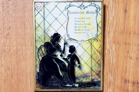Convex Glass Picture Frame : Wonderful Mother