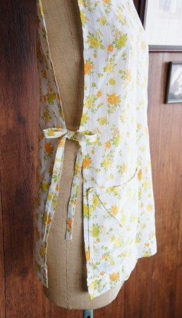Full Apron : Yellow & Orange Flowers