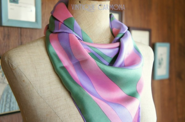 【Jacqmar】 Abstract Print Scarf