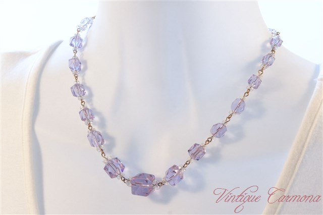 Alexandrite Glass Necklace
