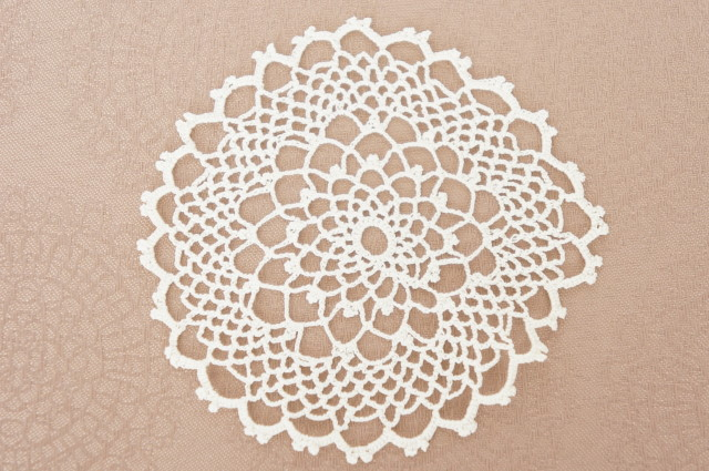 Handmade Lace Doily : Small 3 pcs Set